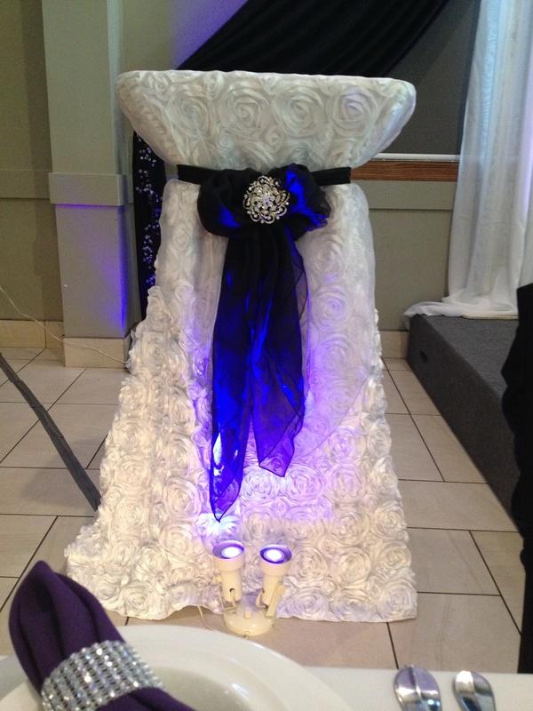 wedding podium decoration